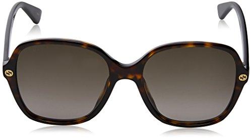 Fashion Shopping Sunglasses Gucci GG 0092 S- 002 AVANA / BROWN