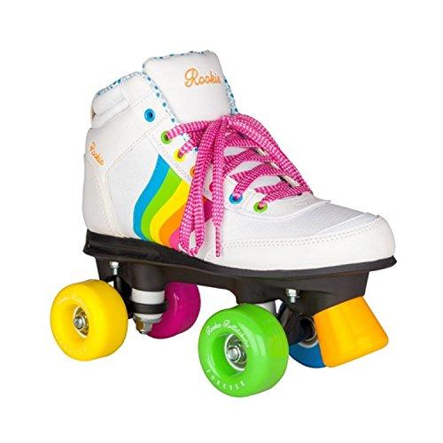 Rookie Rollerskates Forever RKE SKA 2028 White Rainbow Gr. 37 (UK 4,5)