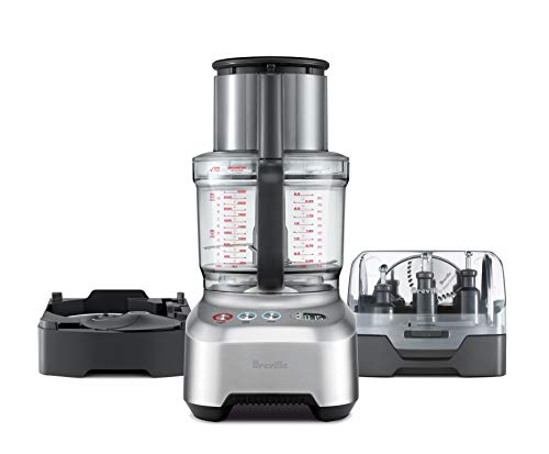 Breville BFP820BAL1BUS1 Sous Chef 16 Peel & Dice Countertop Food Processor, cup, Silver, best food processor for pureeing baby food