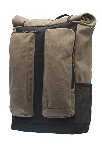 Blackburn Wayside Bike Backpack & Pannier(Black/Tan, One Size)