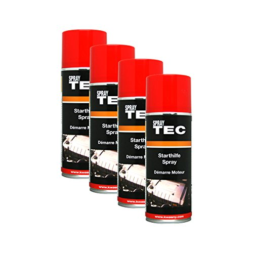 Kwasny 4X 235 010 Auto-K Spray TEC Starthilfe-Spray 400ml