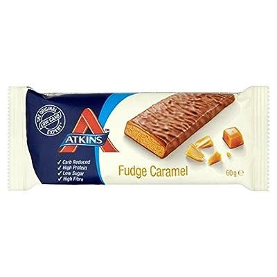 Atkins 60 g Fudge Caramel Bar - by Atkins by Atkins