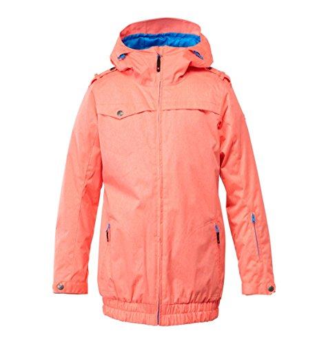 DC Riji - Giacca da neve da donna con cerniera intera, colore: rosa, taglia S
