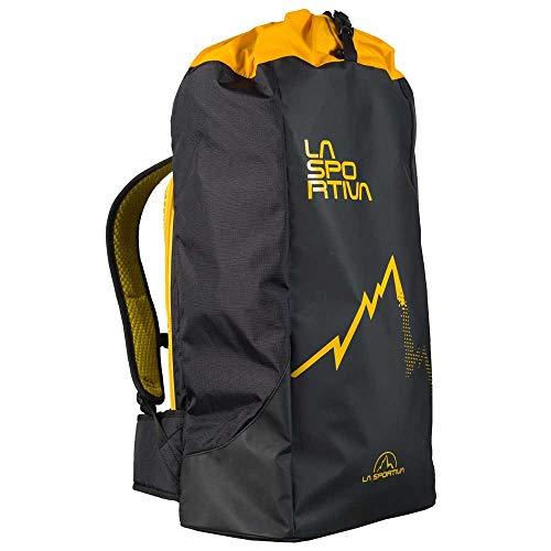 La Sportiva Crag Bag Bolsa, Adultos Unisex, Black/Yellow (Multicolor), Talla Única