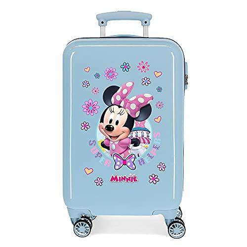 Disney Super Helpers Valigia da cabina blu 34 x 55 x 20 cm rigida ABS chiusura a combinazione laterale 32 2 kg 4 ruote doppie bagaglio a mano