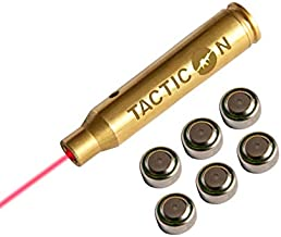 Tacticon Laser Boresight for .223 Rem 5.56 mm NATO   Combat Veteran Owned Company   Zeroing Sight in with Rifle   Zero Bore Sighter Lasers for Rifles   556 223 Boresighter Lazer