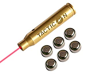 Laser Boresight for .223 Rem 5.56 mm NATO   Combat Veteran Owned Company   Zeroing Sight in with Rifle   Zero Bore Sighter Lasers for Rifles   556 223 Boresighter Lazer
