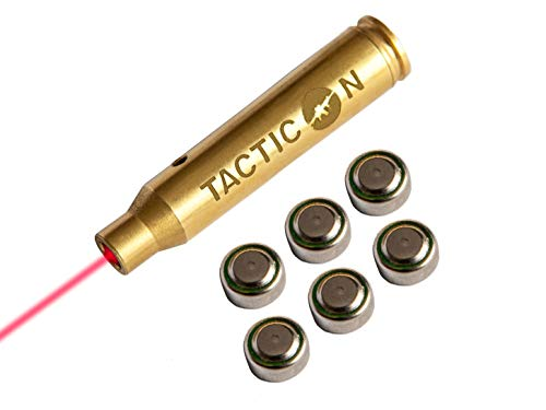 Tacticon Laser Boresight for .223 Rem 5.56 mm NATO | Combat Veteran Owned Company | Zeroing Sight in with Rifle | Zero Bore Sighter Lasers for Rifles | 556 223 Boresighter Lazer