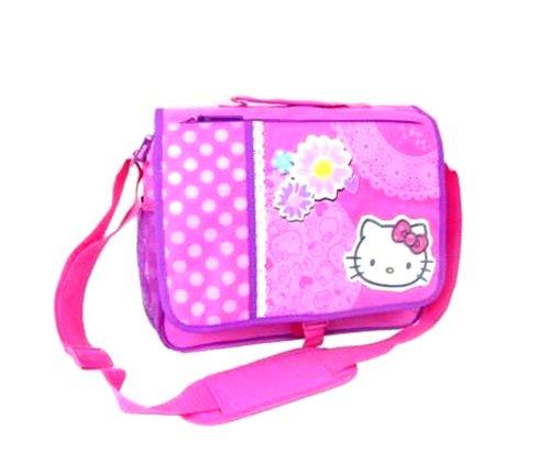 Hello Kitty Messenger Bag: Spring Flowers