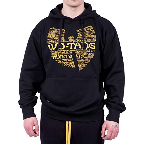 Wu Wear - Wu Tang Clan - Wu Wear Protect Hooded - Wu-Tang Clan Taille M, Couleur Black