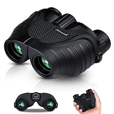 Binoculars 15x25, HD Professional/Waterproof Binoculars with Low Light Night Vision, Durable & Clear BAK4 Prism FMC Lens Binoculars. Suitable for Outdoor Sports and Concert, Bird Watching.