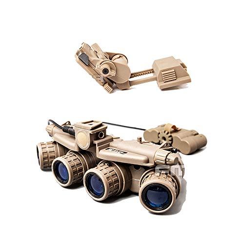 FMA Tactical Hunting Dummy GPNVG 18 & Kunststoff L4G24 NVG Halterung für Airsoft (DE)