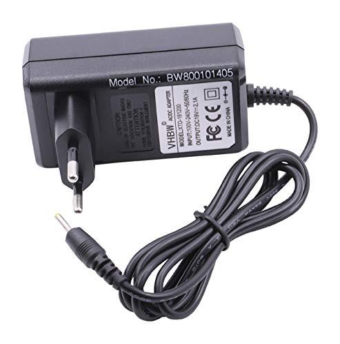 vhbw Ladegerät, Ladekabel, Netzteil 40W (20V/2A) passend für Asus Eee PC 1001, 1001HA, 1001P, 1001PX, 1001PXD, 1005, 1005HA, etc.
