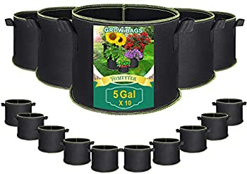 10-Pack Tomvyter Smart Planting Aeration Fabric Pots