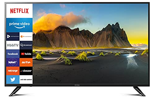 DYON Smart 49 XT 123,2 cm (49 Zoll) Fernseher (4K Ultra-HD Smart TV, HD Triple Tuner, Prime Video, Netflix & HbbTV)