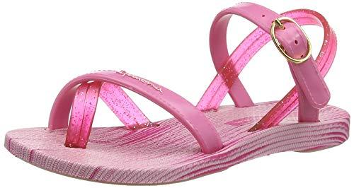 Ipanema Mädchen Fashion Sand VI Kids Slingback Sandalen, Mehrfarbig (Pink 8553), 25/26 EU