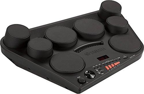 Yamaha DD-75 Drumset, schwarz – Transportable E-Drums mit 8 anschlagdynamischen Drum-Pads – Drum Kit mit Lautstärkeregelung & Kopfhöreranschluss