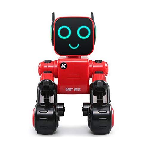 GMN Robot Inteligente Juguete Interactivo Canto y Baile Ciencia Matemáticas Rojo