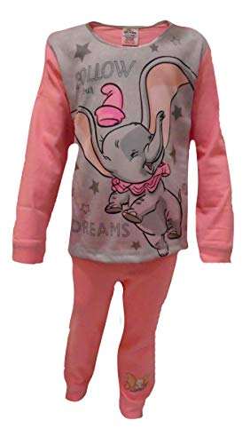 Dumbo Follow Your Dreams Mädchen Schlafanzug 18-24 Monate