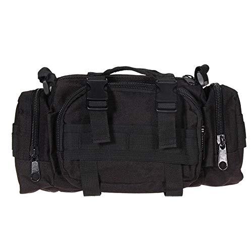 Valink 600D Imperméable Oxford Tissu Escalade Sacs Extérieur Militaire Tactique Taille Paquet Mou Randonnée Camping Pochette Sacs Voyage Sac à Dos - 7.09\