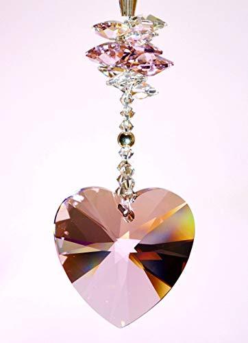Herz Sonnenfänger aus Swarovski® Kristallen, Ostergeschenk