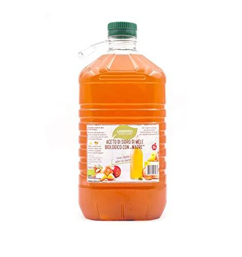 Aceto di MELE BIOLOGICO con 'madre' 5 litri Tanica...