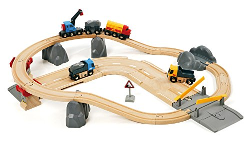 BRIO 33210 – Circuit Rail Carrete Transporte de Rocas