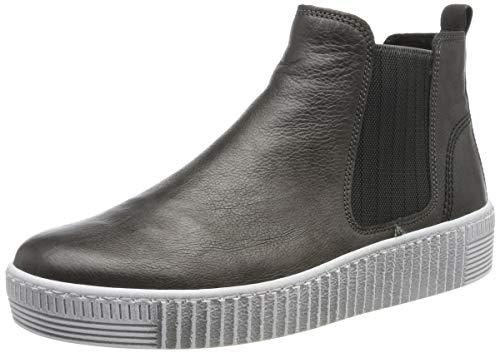 Gabor Shoes Gabor Jollys, Damen Kurzschaft Stiefel, Grau (Grey (Weiss) 29), 40 EU (6.5 UK)