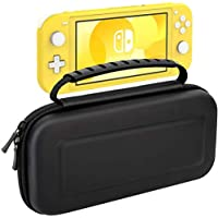 ChuangDaRong Portable Travel Carrying Case with Soft Deluxe Lining for Nintendo Switch Lite
