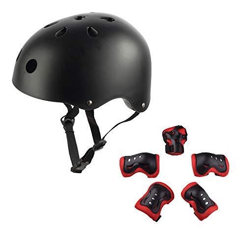 Nexmon kinderhelm, verstelbaar, beschermingsuitrusting voor scooters voor kinderen van 3 tot 8 jaar, schokbestendigheid van ABS-behuizing, schuimdemping
