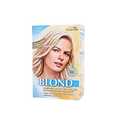 Joanna, schiarente biondo per capelli, colpi di sole fino a 6 toni più chiari
