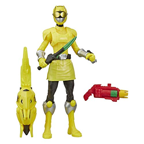 Power Rangers Beast Morphers Beast-X Yellow Ranger 6-inch Action Figure Toy Inspired by The Power Rangers TV Show