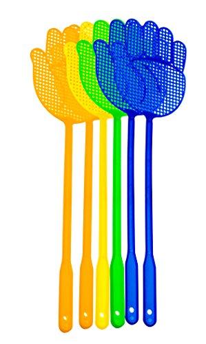 ReiTrade Set di Mosche Protezione Antizanzare con Mano Design per Mosche, zanzare e Insetti, Colori Assortiti