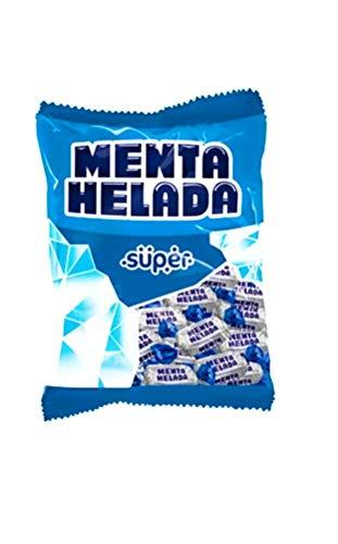 Super Menta Helada, Caramelo duro de menta- Producto Colombiano 380 Gramos