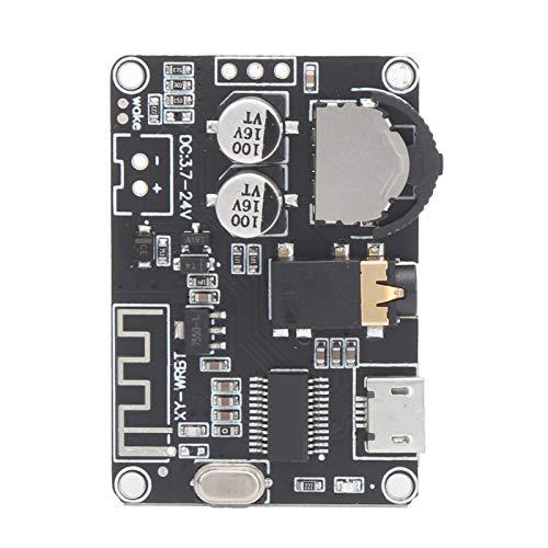 Placa amplificadora Bluetooth 5.0, altavoz de amplio voltaje XY-WRBT, módulo de audio estéreo para amplificador de potencia de altavoz ajustable de volumen
