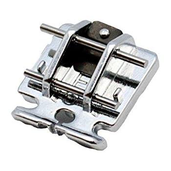 Alfa Prensatelas para cremalleras invisibles, accesorio para máquina de coser, acero inoxidable: Amazon.es: Hogar