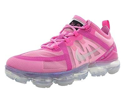 Nike Women's Air Vapormax 2019 Active Fuchsia/Laser Fuchsia/Fuchsia/Psychic Pink Mesh Cross-Trainers Shoes 10 M US
