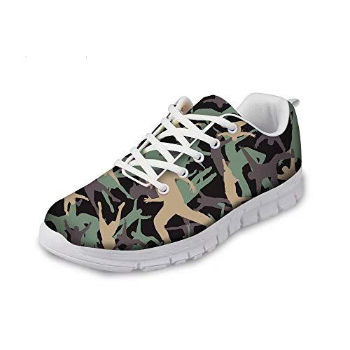 MODEGA Tarnung Schuhe Männer Ghillie Schuhe populäre Schuhe Bequeme Laufschuhe Männer Tennisschuhe billig Innovative Schuhe Schuhe für Frauen Joggen Plus Größe 44 EU|9 UK
