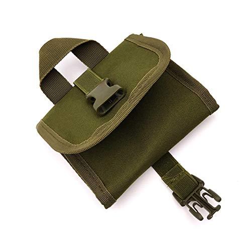 Sac Bullet de Chasse Multifonction munitions Sac Durable Molle Utilitaire Holder Poche Sacs Shell Sports et Plein air (Vert)