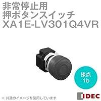 IDEC (アイデック) XA1E-LV301Q4VR φ29中形 プリント基板用端子形プッシュロックターンリセット(照光式・メイン接点:1b) 赤 NN