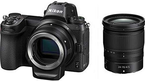 Nikon Z6 Mirrorless Camera with 24-70mm Lens and Mount Adapter FTZ