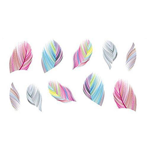 Delleu Belleza Accesorios uñas Arte Transferencia de Agua calcomanía Pegatinas Decoraciones Bricolaje Herramientas Kits para Mujeres niñas