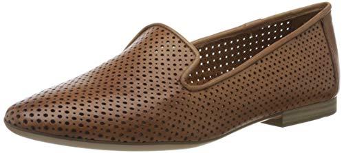 Tamaris 1-1-24214-24, Mocassins Femme, Marron (Nut Leather 436), 39 EU