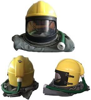 Ewoo 2017 AIR FED Safety Sandblast Helmet Sand Blast Hood Protector for Sandblasting