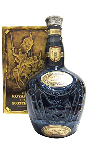 Chivas Regal - Royal Salute Sapphire Flagon (old bottling) - 21 year old Whisky