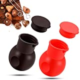 Durable and safe to use: the chocolate melting pot is made of quality silicone material, suitable for melting butter, hand candy, cheese, caramel and chocolate in microwave oven; It's also low-temperature resistant and can solidify the rest of your c...