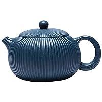 Cette belle théière est faite d'argile sélectionnée. Naturelle et saine, après plusieurs utilisations de la théière, la théière elle-même peut être utilisée pour aromatiser l'eau bouillante sans ajouter de feuilles de thé fraîches. Taille de la théiè...