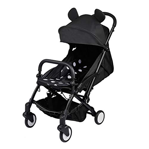 Find Discount TXTC Pushchair Stroller,Foldable Stroller Compact Convertible Luxury Pram Strollers,...