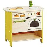 Zhengowen TO Kinder Küche Spielset Spielküche aus Holz Little Chef Pretend Kochen Spielzeug-Set mit Kochzubehör Kinder Küche Spielset aus Holz (Farbe, Size : 60x59x38.5cm)