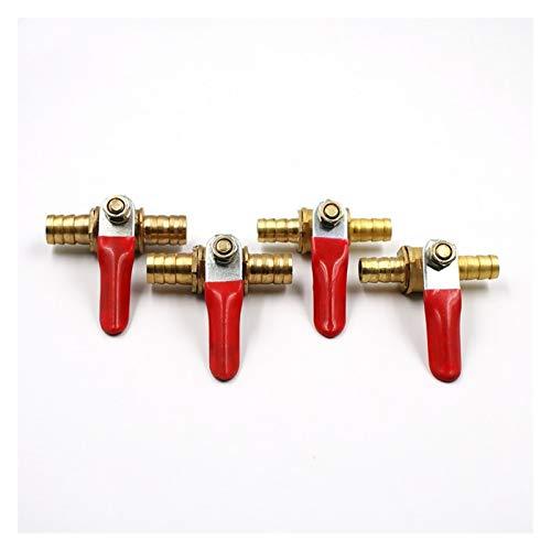Duradero Controlador conector neumático accesorios de tubería de la válvula de 6 mm a 12 mm for manguera en línea de latón Agua Aceite Aire línea de gas combustible de cierre de bola Para cocinas de j